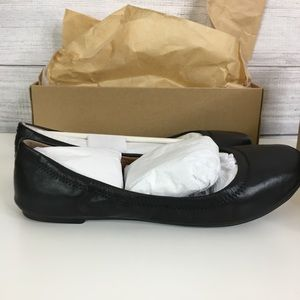 Lucky Brand Ballet Flats 9.5 Wide Width Leather